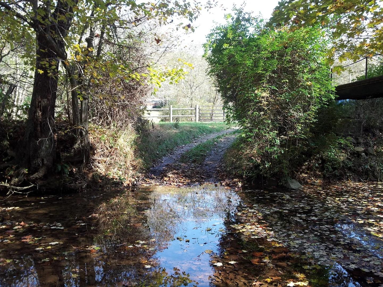 Birdseye gravel creek driveway