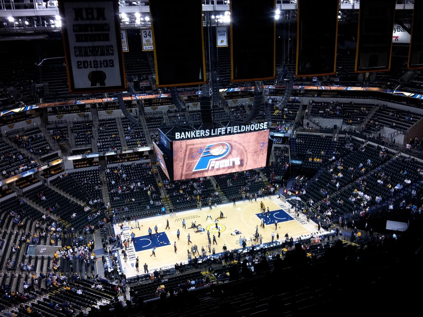 Indiana Pacers, Bankers Life Fieldhouse, Indianapolis, 12/13/2013