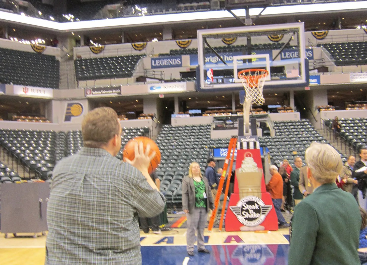 free throw, Bankers Life Fieldhouse