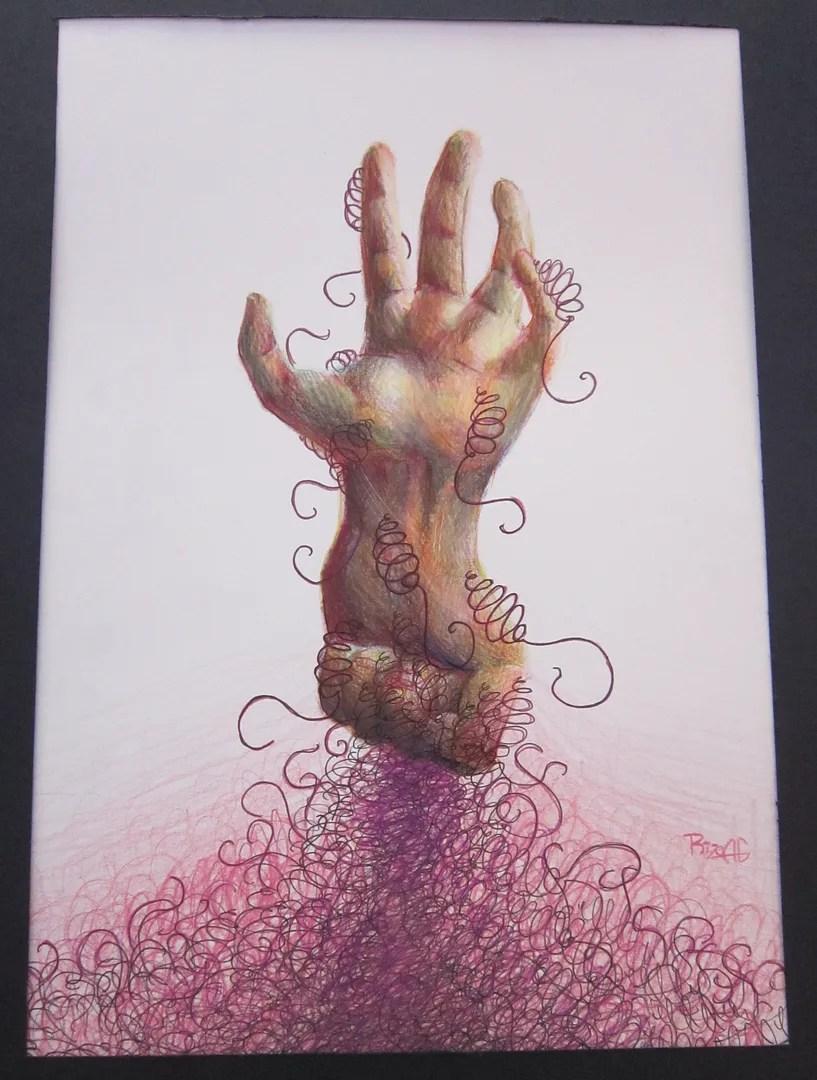 handsprings, high school art class