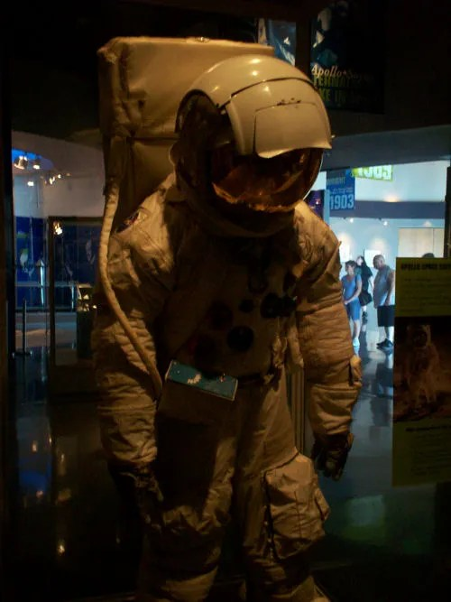Apollo  Spacesuit @ Kennedy Space Center, 2007