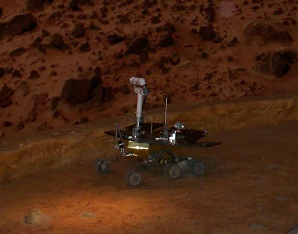 Mars Rover, museum RC version