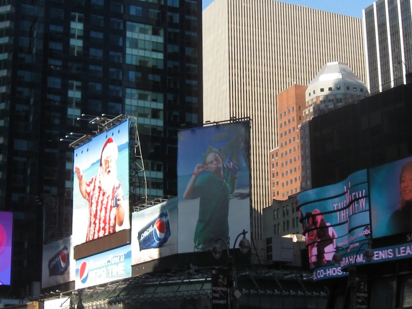 least favorite Times Square ads, 2011