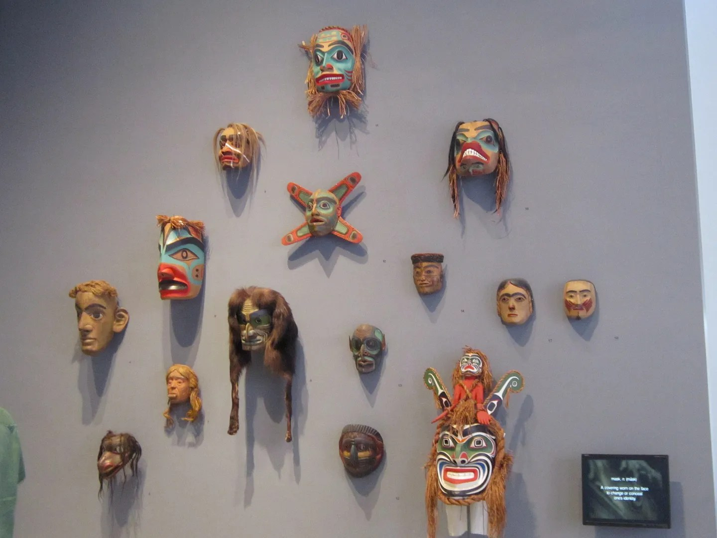 Pacific Northwest Native American Indian masks