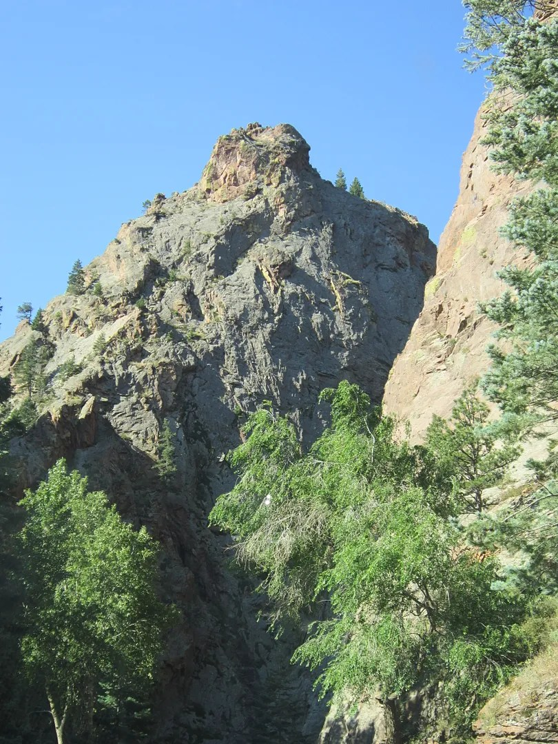 George Washington's Profile, Seven Falls, Colorado Springs