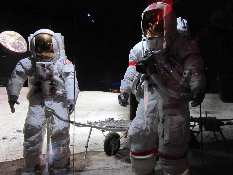 astronaut spacesuits, Kansas Cosmosphere & Space Center, Hutchinson, Kansas