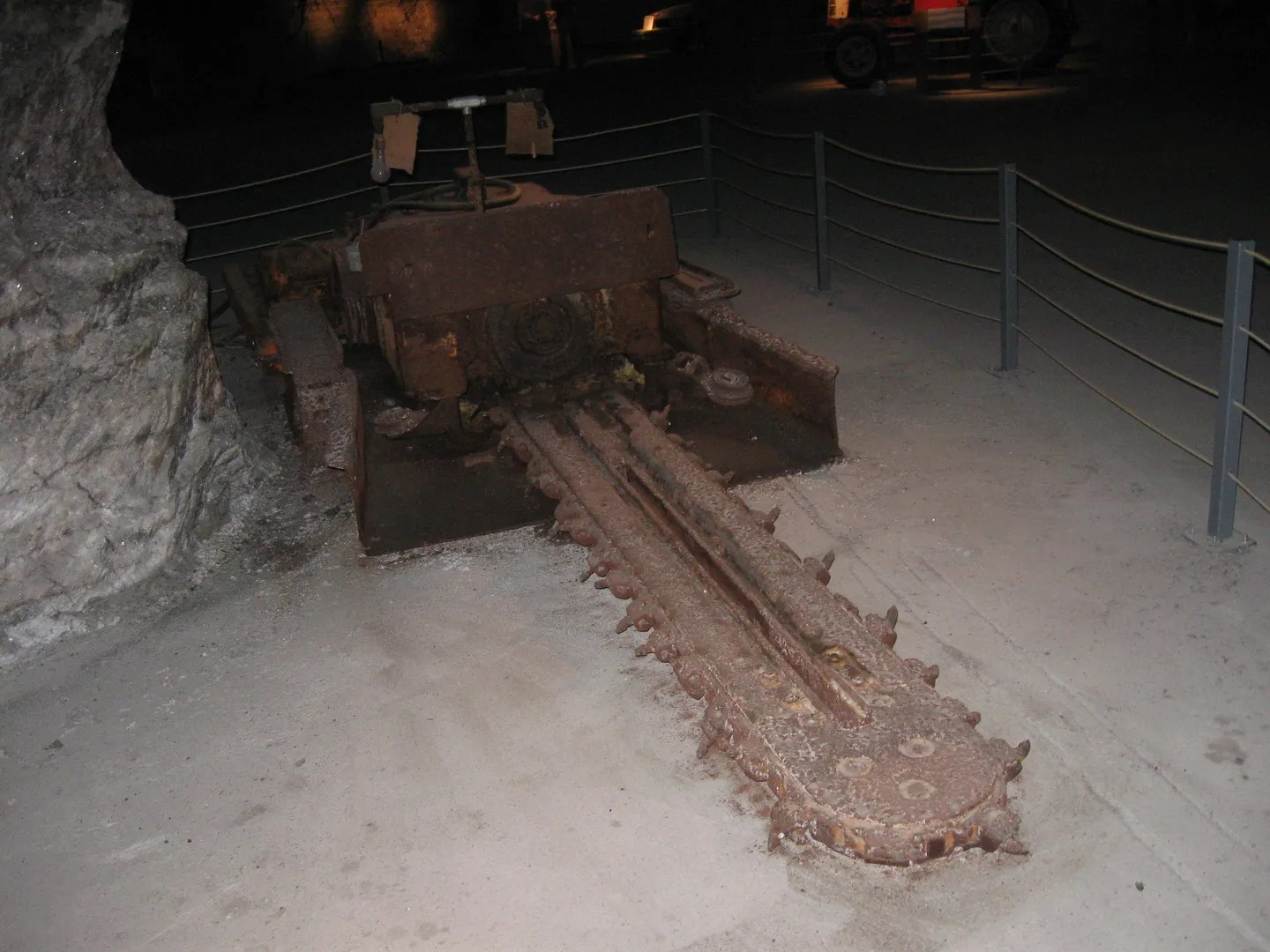 Chainsaw-Mobile, Underground Salt Museum, Hutchinson, Kansas