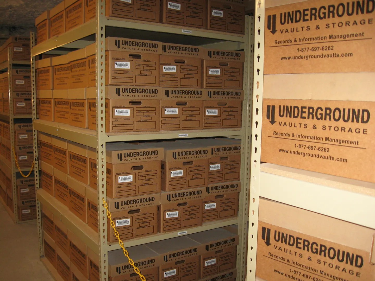 Undergrounds Vaults and Storage, Hutchinson, Kansas