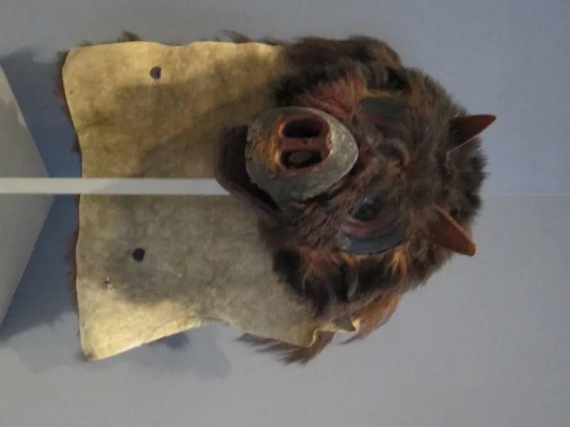 Kwakwaka'wakw bear mask