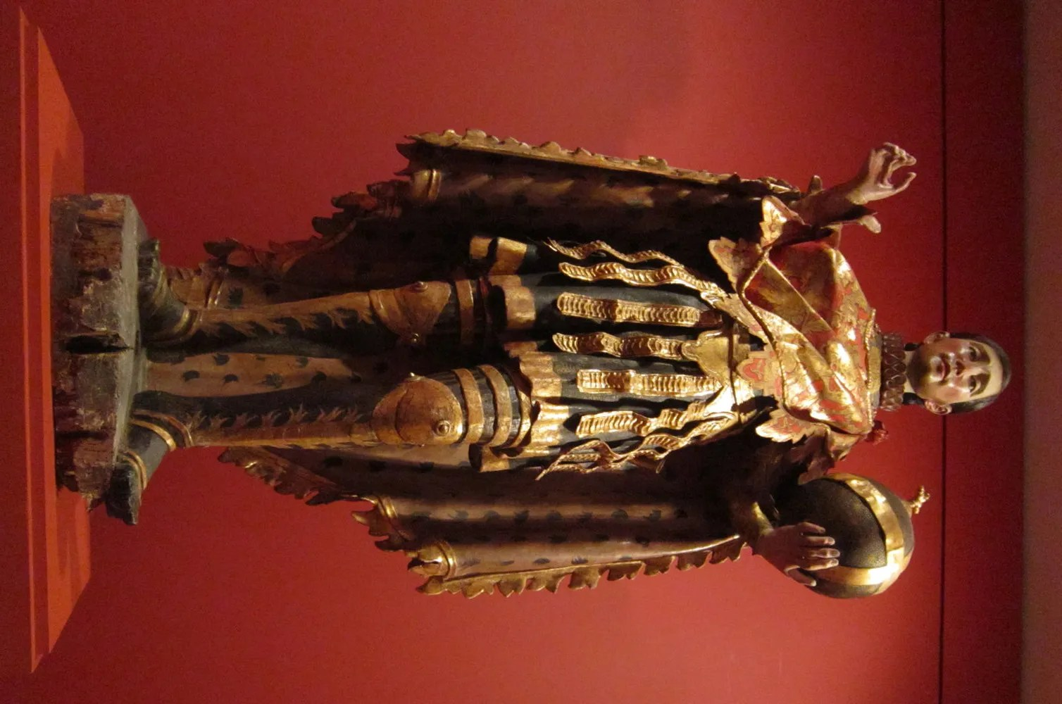 Spanish saint sculpture, Denver Art Museum