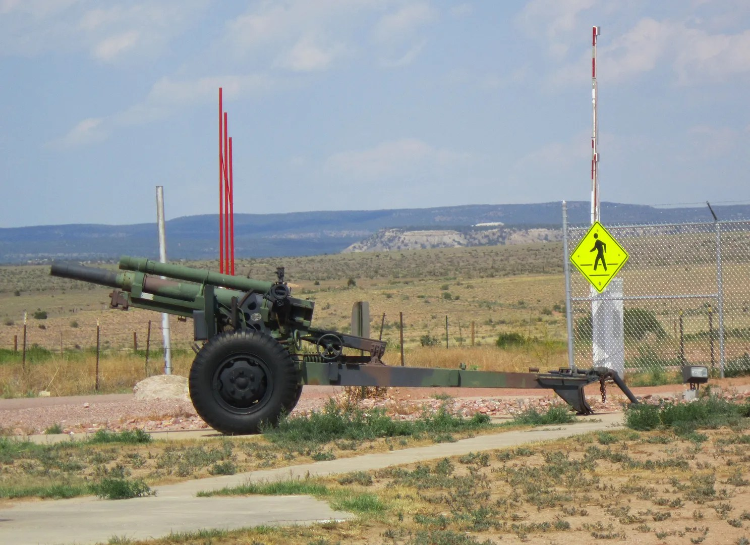 105mm Howitzer, Colorado