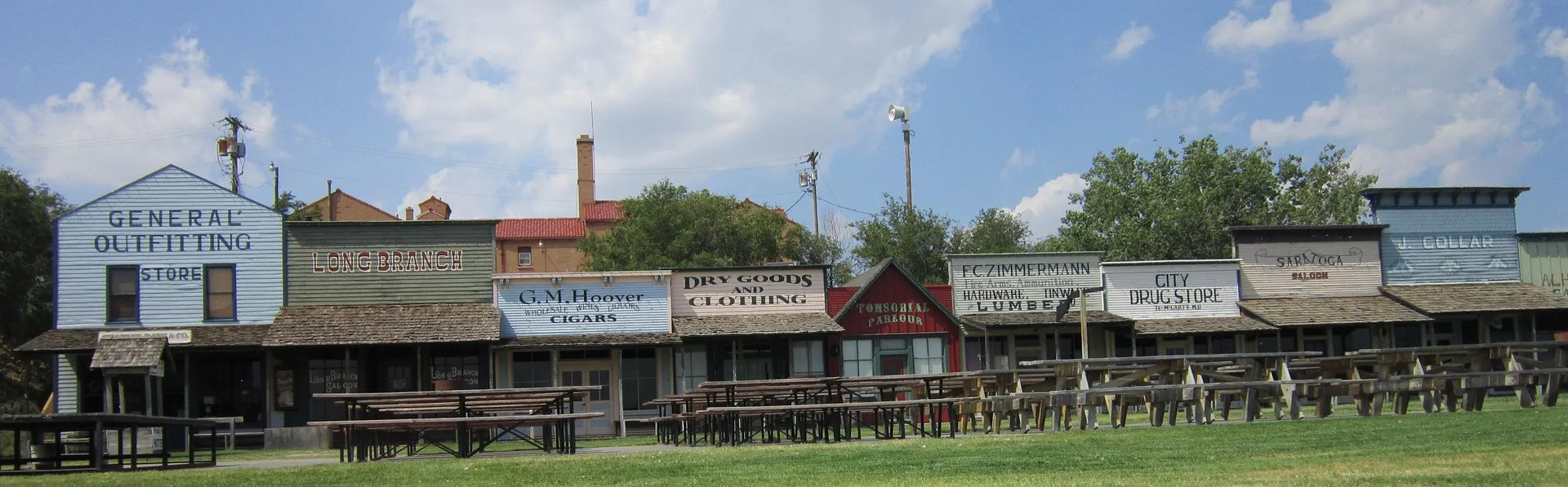 Boot Hill Museum stores, Dodge City, Kansas