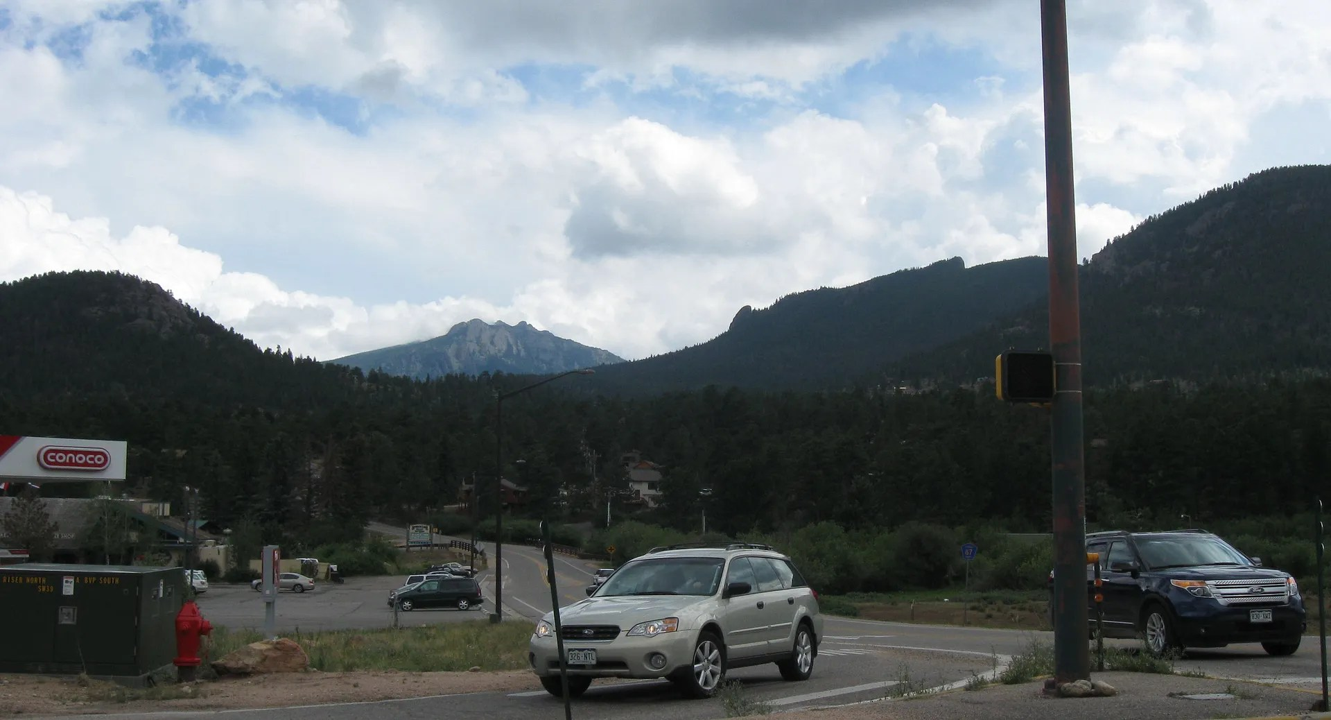 Rocky Mountains driving