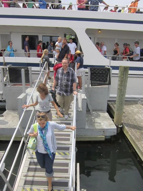 disembarcation, cruise ship