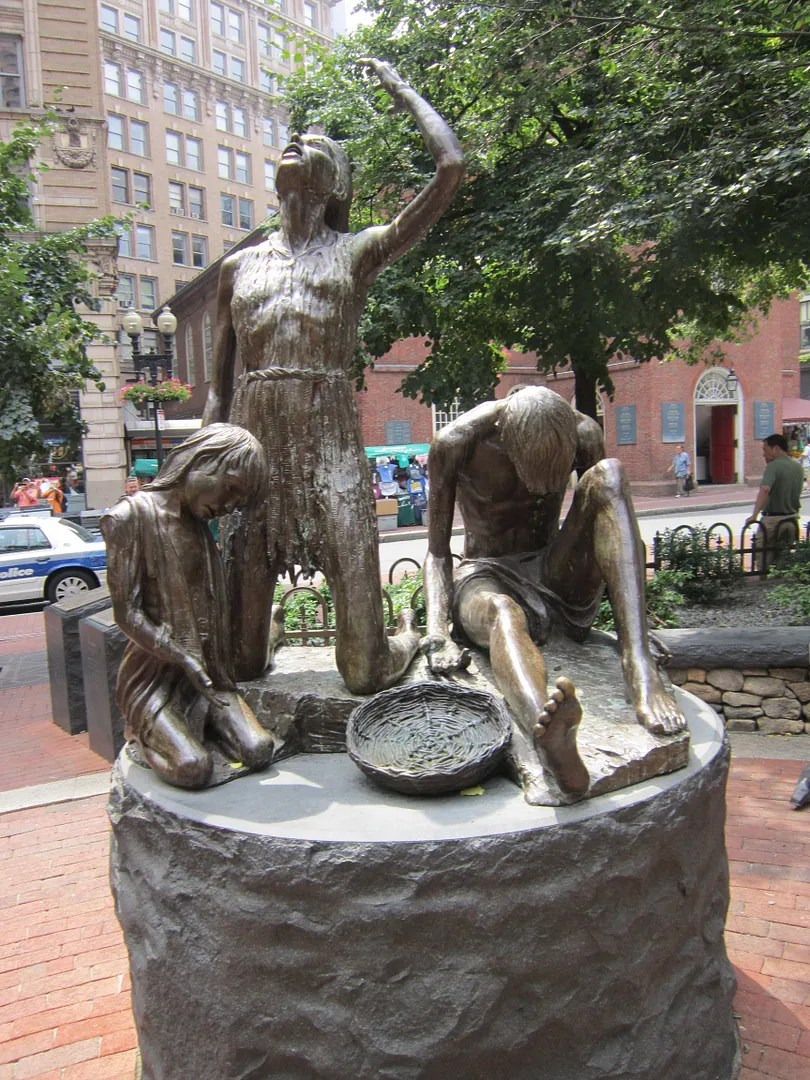 Boston Irish Famine Memorial, Boston