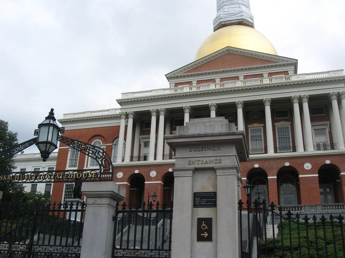 Massachusetts State House Capitol dome, Boston