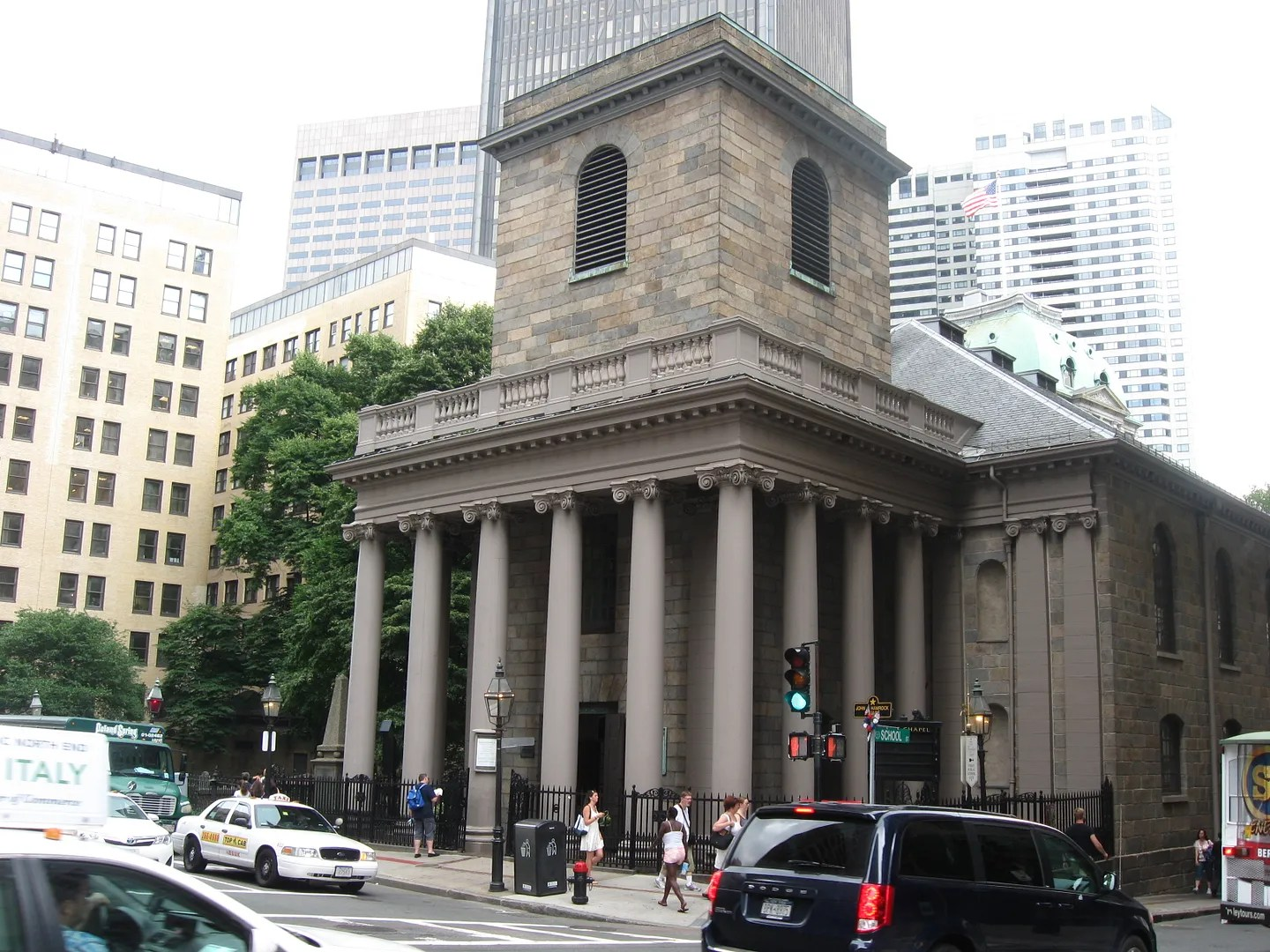 Kings Chapel, Boston