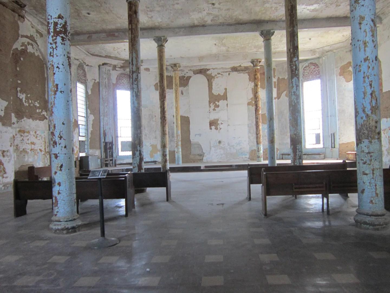 prison chapel, Ohio State Reformatory, Mansfield
