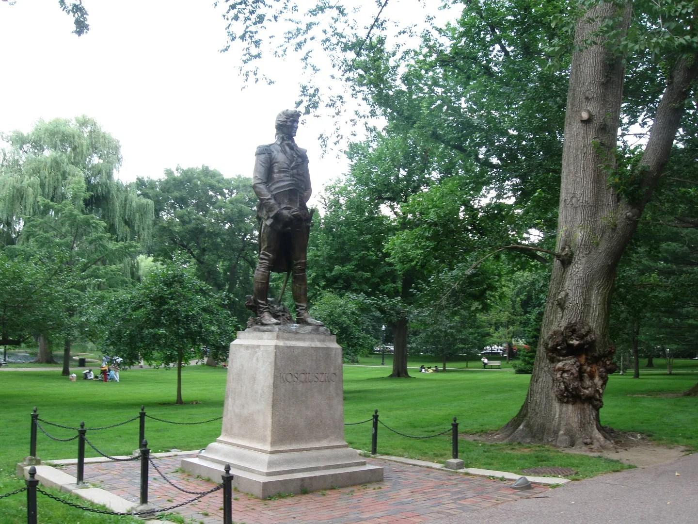 Tadeusz Kościuszko statue, Boston Public Garden