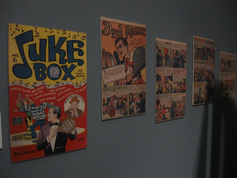 Juke Box Comics, Desi Arnaz comic book
