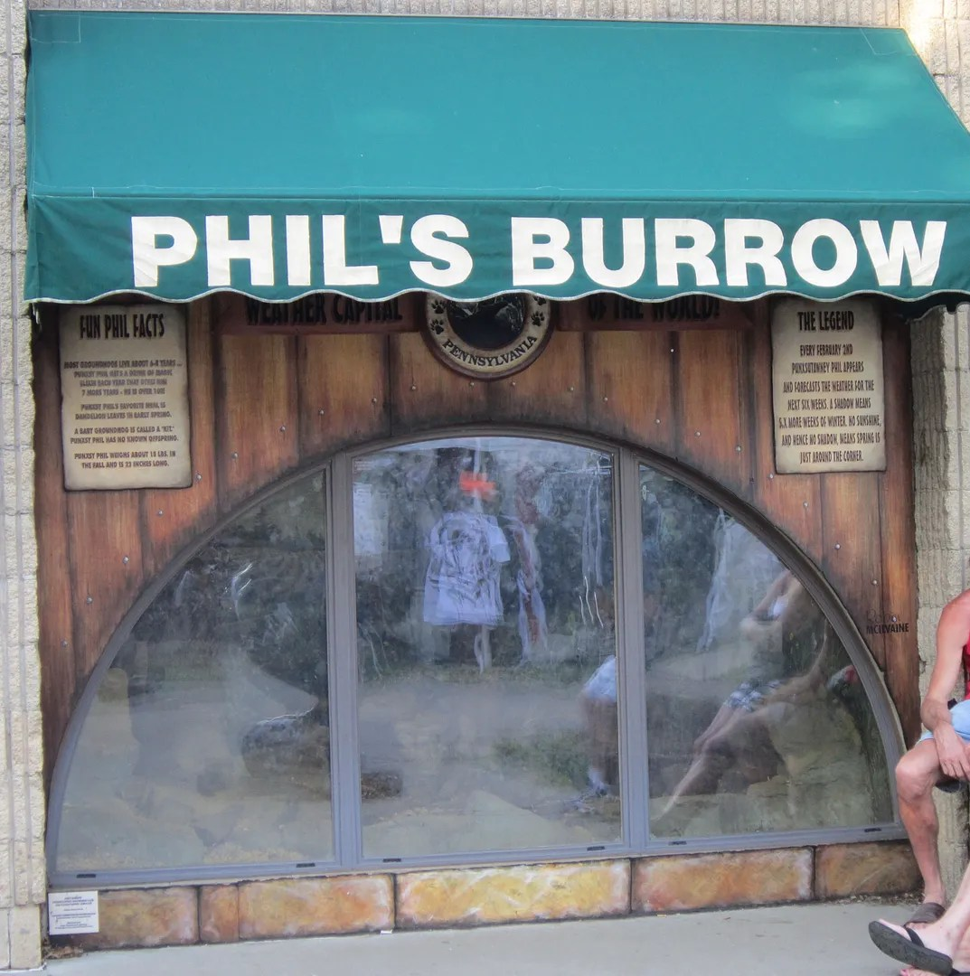 Punxsutawney Phil burrow, Pennsylvania