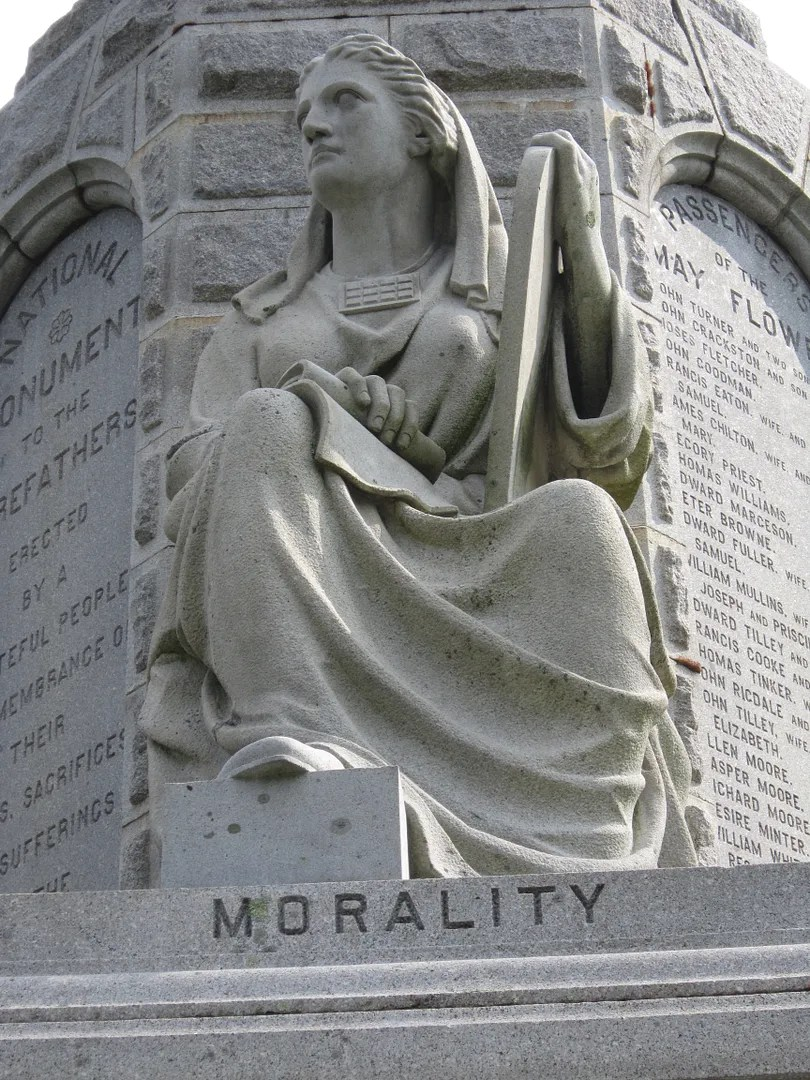Morality,National Monument to the Forefathers, Plymouth, Massachusetts