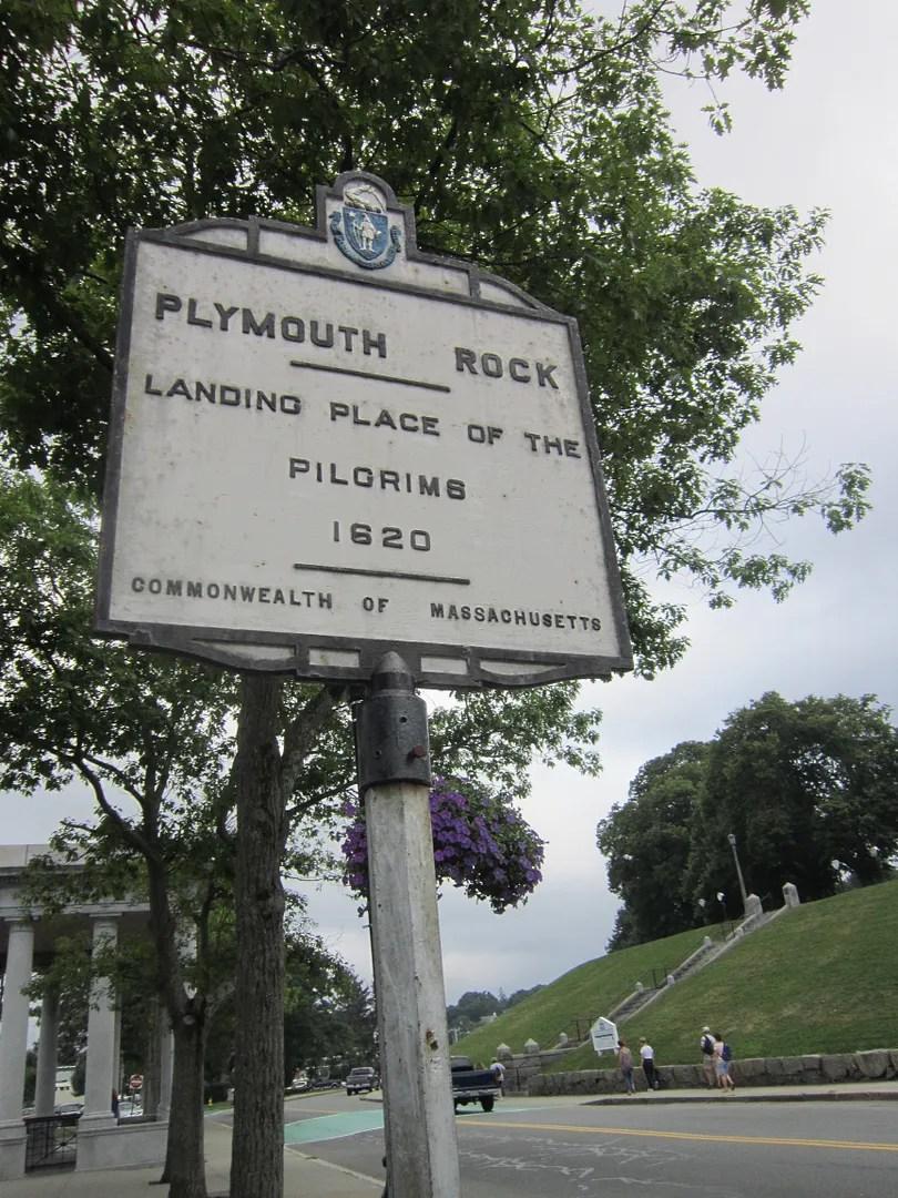 Plymouth Rock, Plymouth, Massachusetts