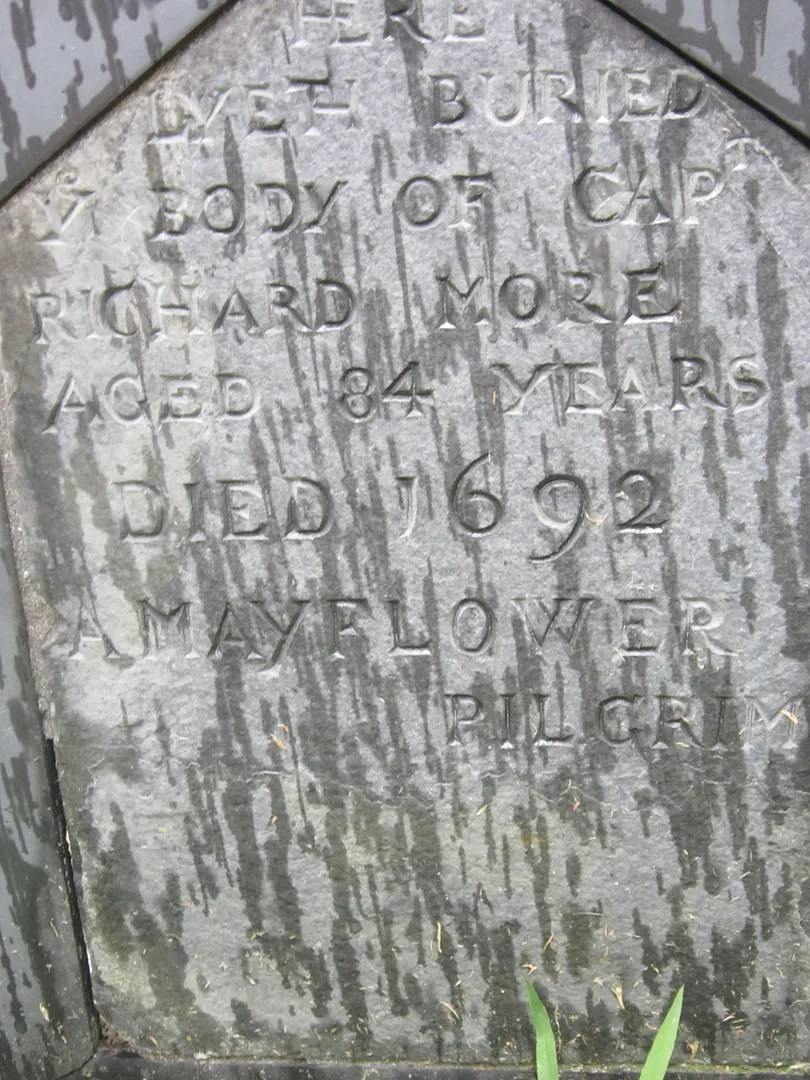 Richard More tombstone, Salem, Massachusetts