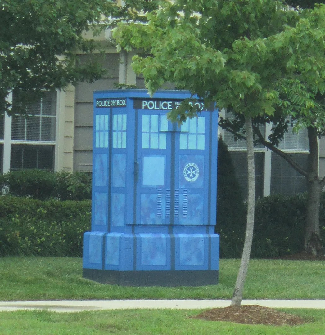 TARDIS, ArtBox, Salem, Massachusetts