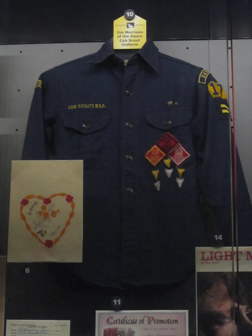 Jim Morrison uniform