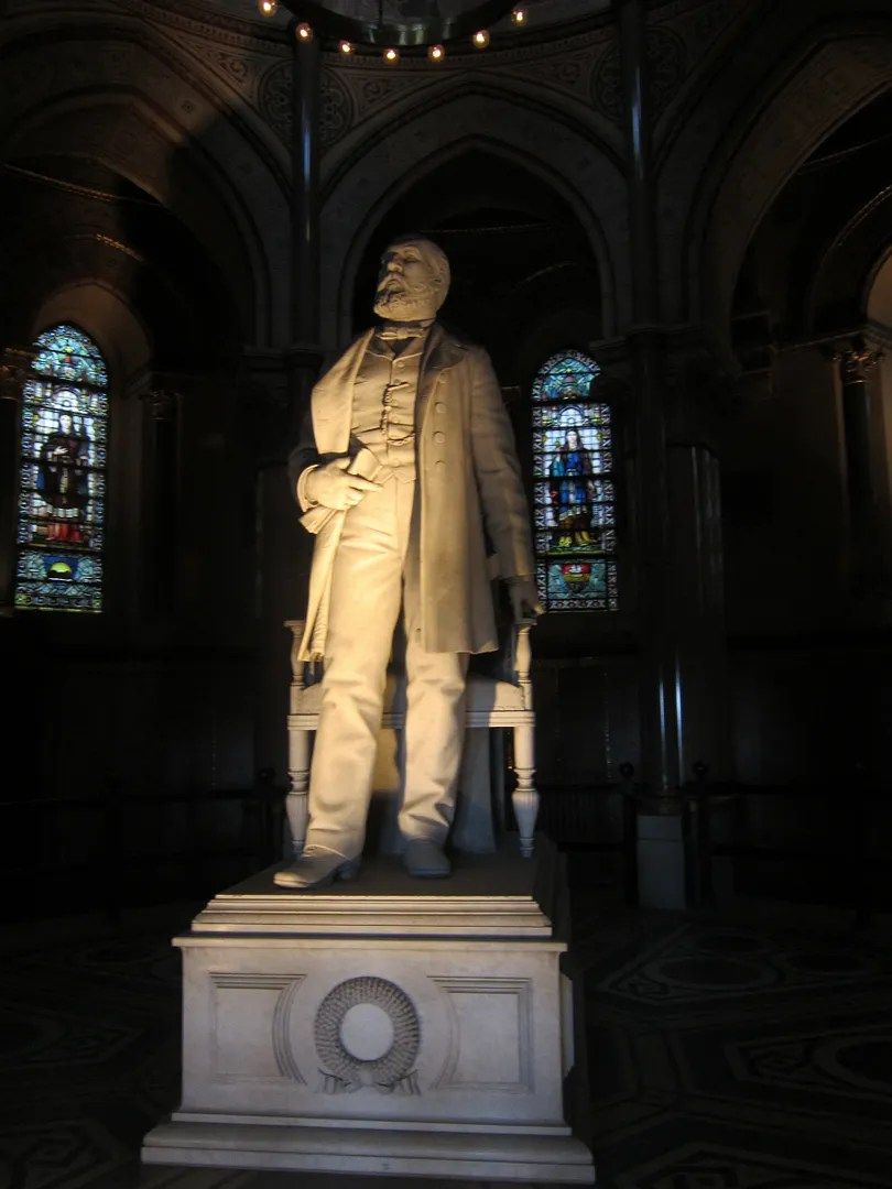 James A. Garfield statue, Cleveland