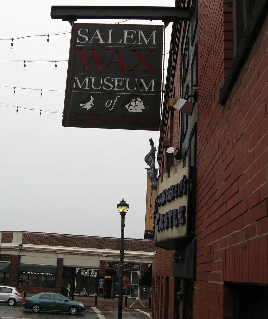 Salem museum signs, Salem, Massachusetts
