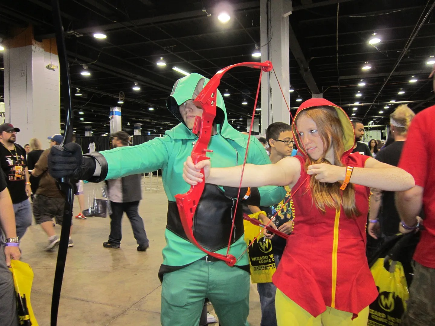Green Arrow, Speedy, Wizard World Chicago