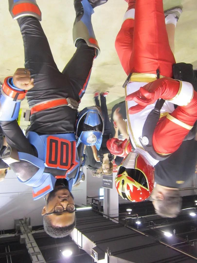 Ryu Ranger, Gosei Sentai Dairanger, Shadow Blue Power Ranger, Wizard World Chicago 2013