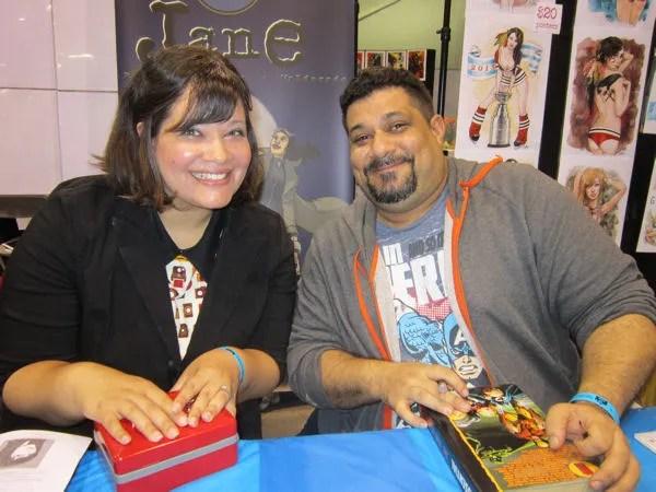 Lauren Burke, Antonio Maldonado, Wizard World Chicago 2013