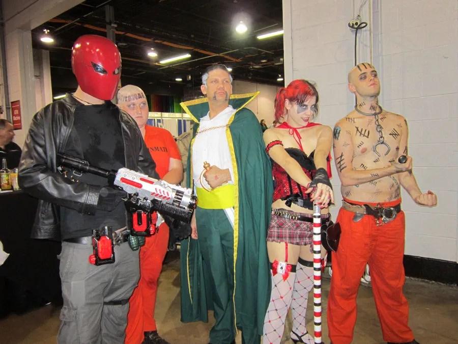 Arkham Asylum Assemble!
