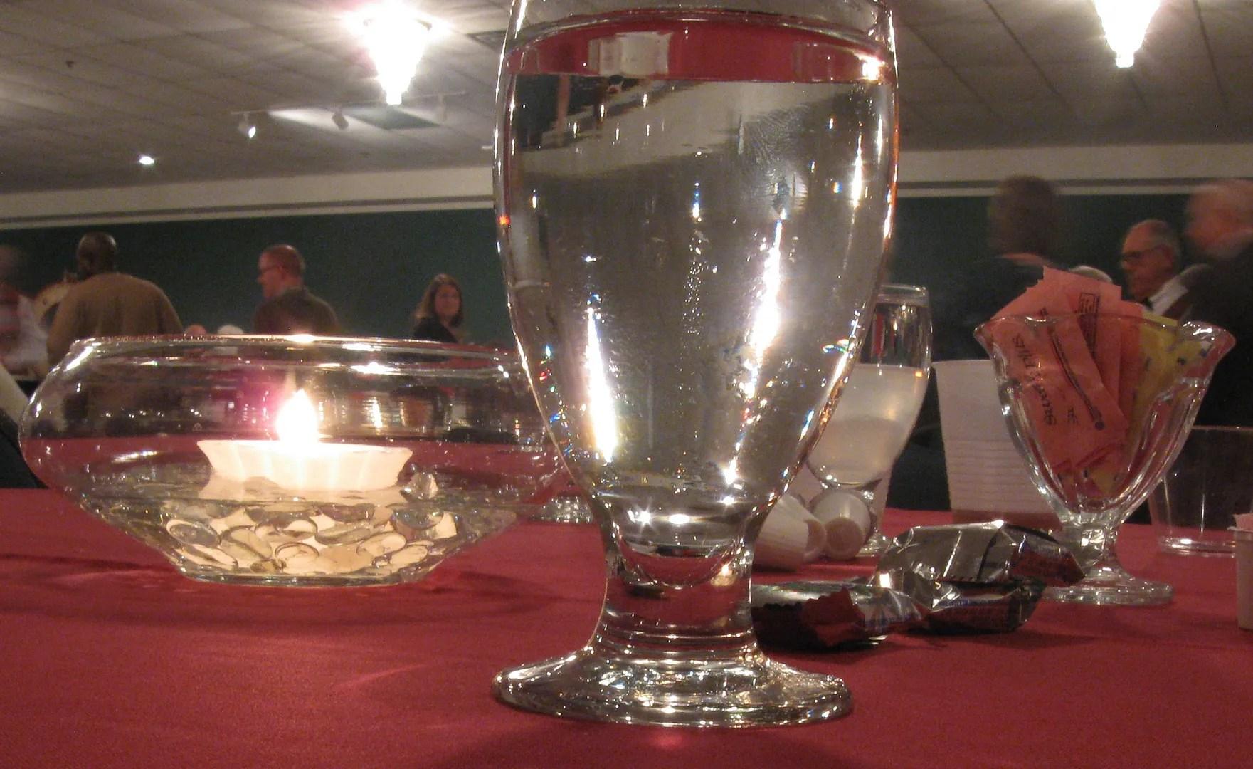 holiday glassware
