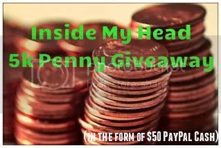 Inside My Head 5k Penny Giveaway