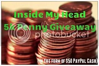 Inside My Head 5k Penny Giveaway