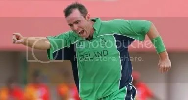 Trent Johnston- Ireland National Cricket Team