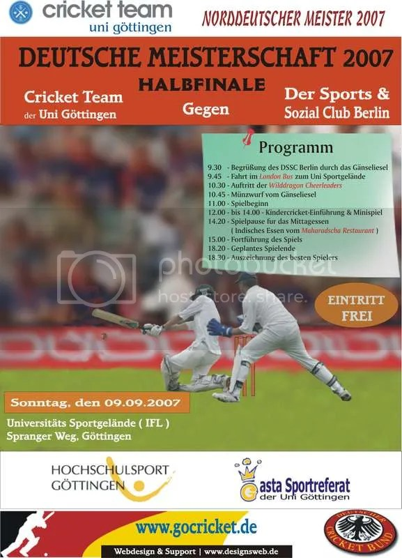 cricket_mail_Poster germany