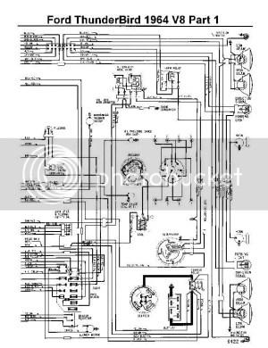 64 Fuse Box Diagram  Vintage Thunderbird Club International
