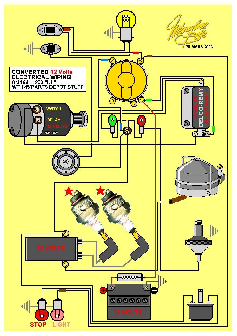 Harley Davidson Coil Wiring Diagram Electric 2006