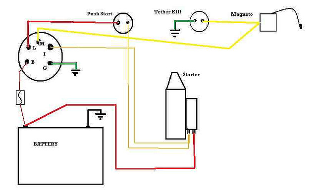 push_b10 lawn mower ignition switch wiring diagram efcaviation com lawn mower key switch wiring diagram at gsmx.co