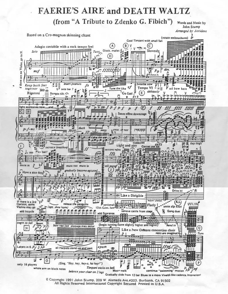 This is the piece people needed to sight read to get into Frank Zappas band