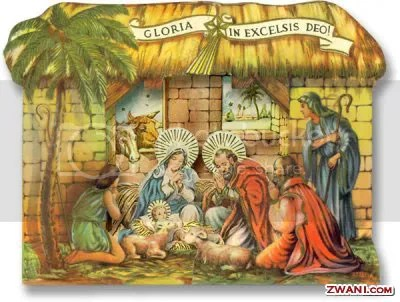 Christ is born in a manger