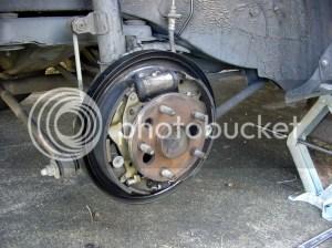 Rear Drum Brake Adjustment GuidePictures  5sfe 1994