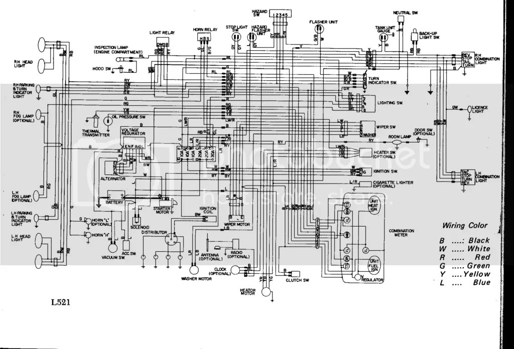 1972 Datsun 521 Wiring Diagram.jpg Photo By Charlie69