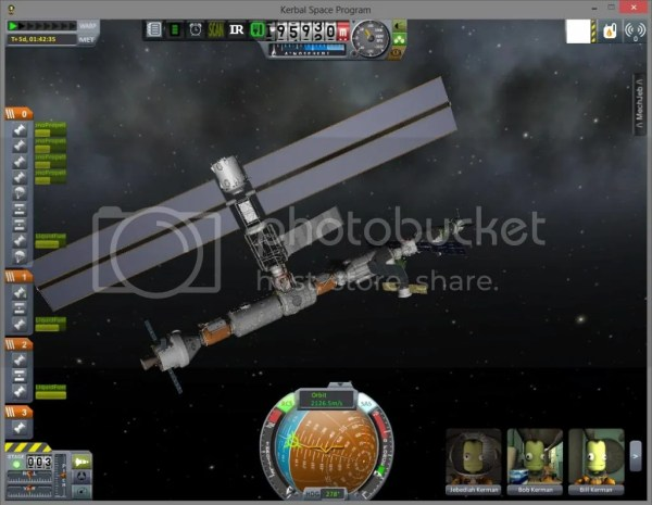 Kerbal Space Program Wherein my Kerbals build the