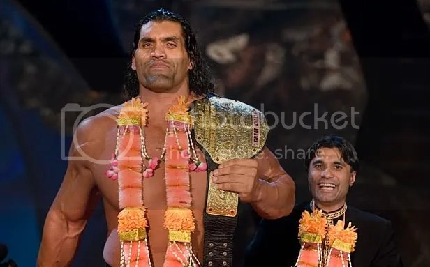 Image result for great khali world champion